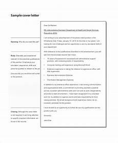 Example Of Professional Cover Letter For Resume Free 7 Professional Cover Letter Samples In Pdf Ms Word
