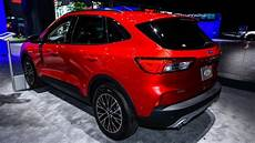ford plans for 2020 2020 ford escape debuts in new york with in power