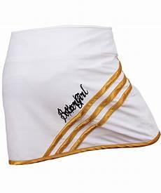 kick it skirt white gold skirts with hotpants boxxerworld