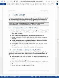 Design Doc Template Design Document Template Technical Writing Tips