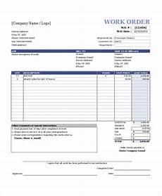 Work Order Format In Word Best Work Order Templates Easyerp Open Source Erp Amp Crm