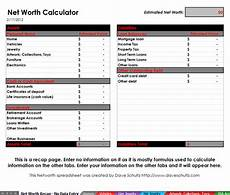 Net Worth Excel Net Worth Excel Template Download Free Software
