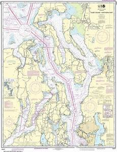 Noaa Coastal Charts Noaa Nautical Chart 18441 Puget Sound Northern Part
