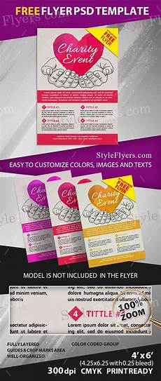 Charity Event Flyer Templates Free Charity Event Free Psd Flyer Template Free Download 11807