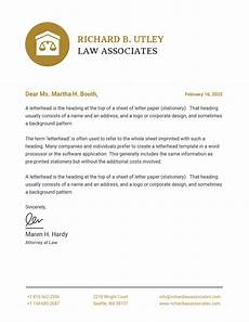 Letterhead Law Firm 23 Business Letterhead Templates Branding Tips