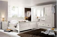 schlafzimmer kiefer weiß schlafzimmer weiss kiefer komplett massivholzm 246 bel in