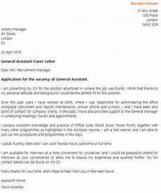 Cover Letter Example For Assistant General Assistant Cover Letter Example Icover Org Uk