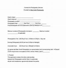 Contract For Photography Services Template Pin On Photography