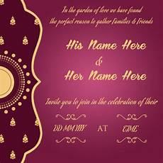 Create A Invitation Card Online Free Create Wedding Invitation Card Online Free