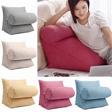 adjustable sofa back wedge cushion lumbar support pillow