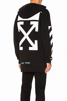 Black And White Designer Hoodie Lyst Off White C O Virgil Abloh Diagonal Arrows Hoodie
