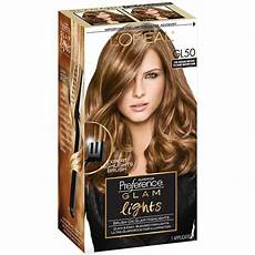 Glam Hair Color Light Brown L Oreal 174 Paris Superior Preference 174 Glam Lights Brush On