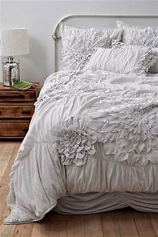 Light Grey Textured Duvet Cover Georgina Duvet Cover Light Grey Anthropologie Com