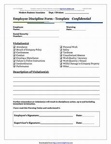 Employee Write Up Forms Free Insubordination Write Up Template Just B Cause