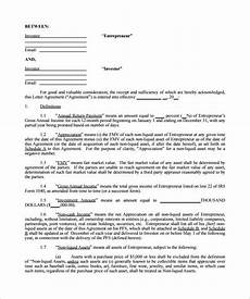 Sample Investor Agreement 12 Investment Contract Templates Word Pdf Google Docs