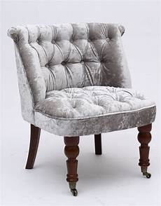 shannon crushed velvet silver accent tub chair with
