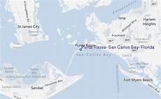 Big Carlos Pass Tide Chart Punta Rassa San Carlos Bay Florida Tide Station Location