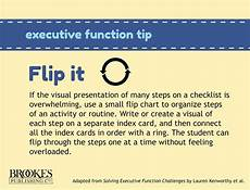 Small Flip Chart A Small Flip Chart Can Help Students With Executive