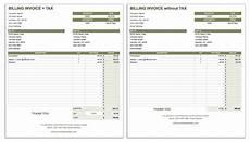 Billing Sheet Template 55 Free Invoice Templates Smartsheet
