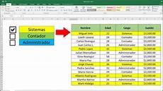 Checklist Excel Excel Formato Condicional Con Checklist En Excel Youtube