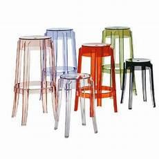 kartell sgabelli cucina kartell charles ghost stools things kitchen furniture