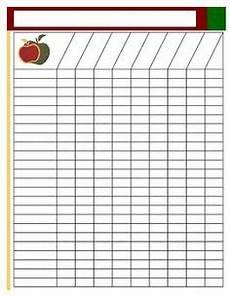 Blank Attendance Sheet For Teachers 5 Attendance List Templates Excel Pdf Formats