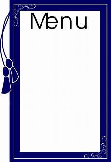 Blank Menus Menu Free Stock Photo Illustration Of A Blank Food