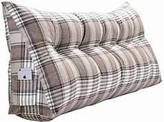 yhjxyl stripe bolster triangular large wedge pillow