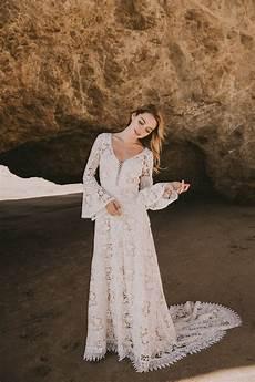 juliet lace bohemian wedding dress dreamers and