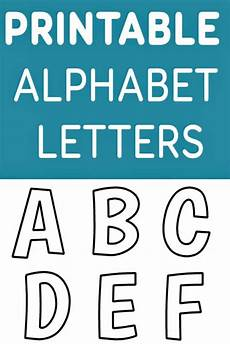 Alphabet Letters Printable Free Printable Alphabet Templates And Other Printable Letters