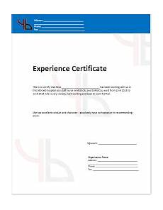 Hardware And Networking Certificate Format Download Image Result For Experience Certificate Format