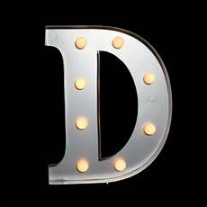 Buy Marquee Lights Marquee Light Letter D Led Metal Sign 10 Inch Battery