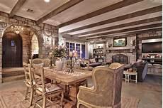 sala da pranzo country hill country shabby chic style sala da