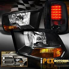 2016 Ram Light Black 2009 2016 Dodge Ram 1500 2500 3500 Headlights