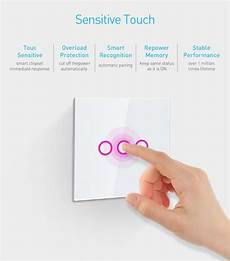 Neo Coolcam Light Switch Neo Coolcam 3ch Z Wave Plus Wall Light Switch 3 Gang Home