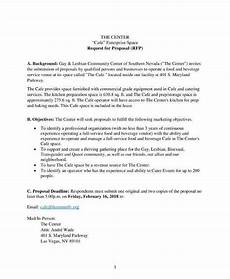 Business Lease Proposal Template 10 Lease Proposal Templates For Restaurant Cafe Amp Bakery