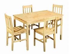 mobile per sala da pranzo tavolo con sedie bea mobile per cucina in legno naturale