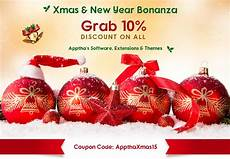 New Year Coupons Christmas Amp New Year Bonanza Apptha Offers 10 Discount