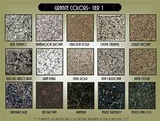 Granite Color Chart Granite Colors Bbt Com
