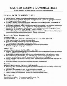 What Is Summary Of Qualifications On A Resume Cashier Resume Sample Resume Companion