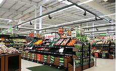 Led Light Store Edmonton Commercial Led Lighting A Grocery Store Trend Relumination