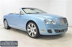 Bentley Continental Light 2011 Bentley Continental Light Blue Ohshc Personal