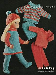 knitting pattern for dolls doll clothes to fit 16 18 20 inch