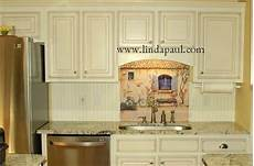 country kitchen backsplash country white kitchen with mural