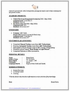 Interest And Activities For Resume Over 10000 Cv And Resume Samples With Free Download