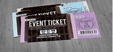 Design Event Tickets Online Ticket Design 20 Creative Examples And Templates