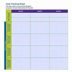 Goal Tracking Chart Free 7 Sample Goal Tracking In Pdf Ms Word