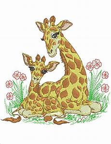 embroidery animals and baby zoo animals machine embroidery by