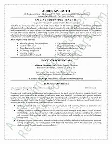 special education teacher assistant resume special education teacher resume example teaching resume