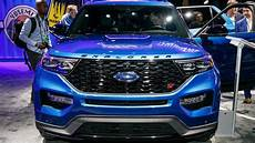 2020 Ford Explorer Linkedin by 2020 Ford Explorer St Live Naias Motor1 Photos